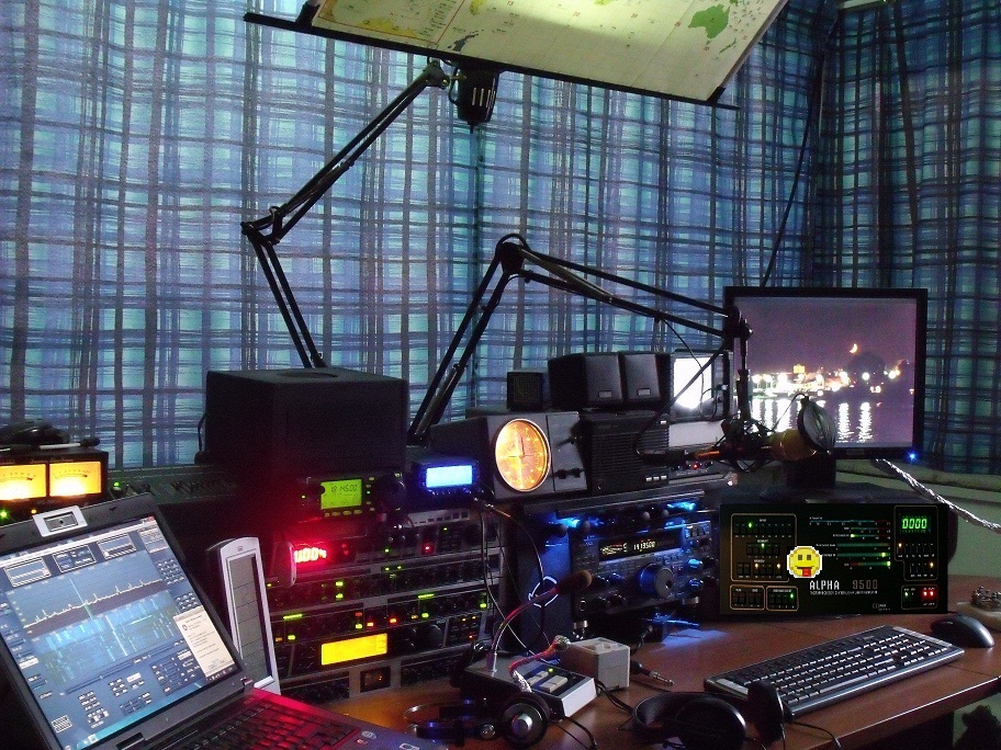Here is the Voodoo Studio of IT9PQJ!