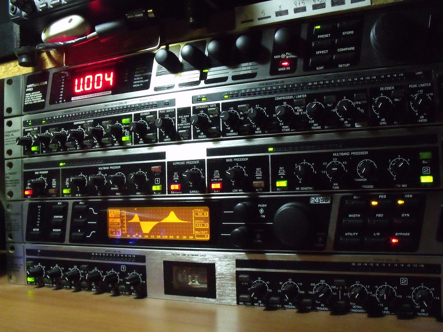 The Voodoo Audio Rack of IT9PQJ!